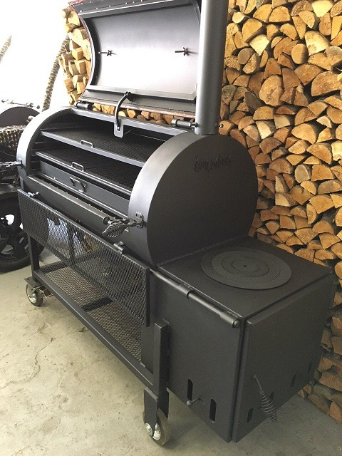 Reverse Flow Offset SmokerCookerGrill BM S 4 300 OFF