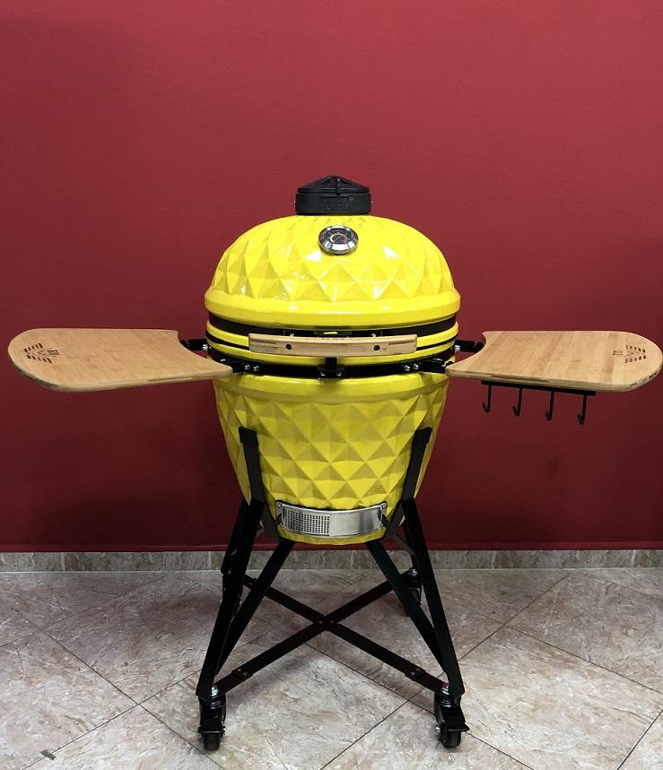 BM-21″   Ceramic Kamado Grill/Smoker (Yellow)