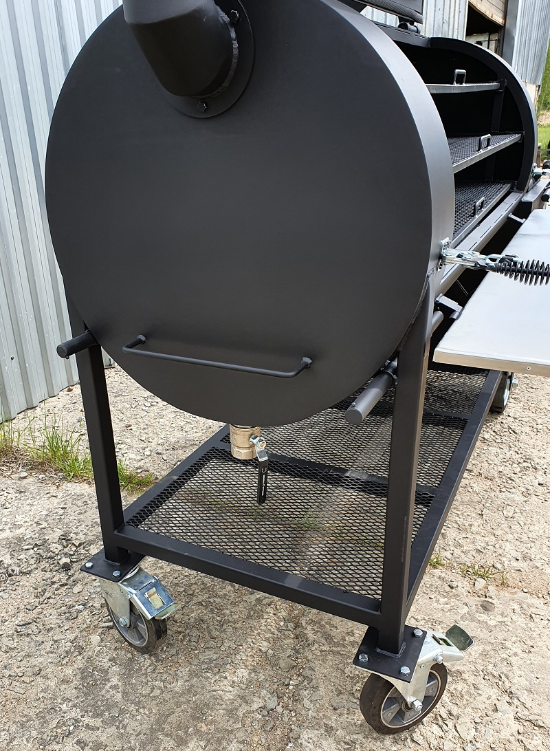 """BM S-5""  universal flow offset smoker (2021 edition)"