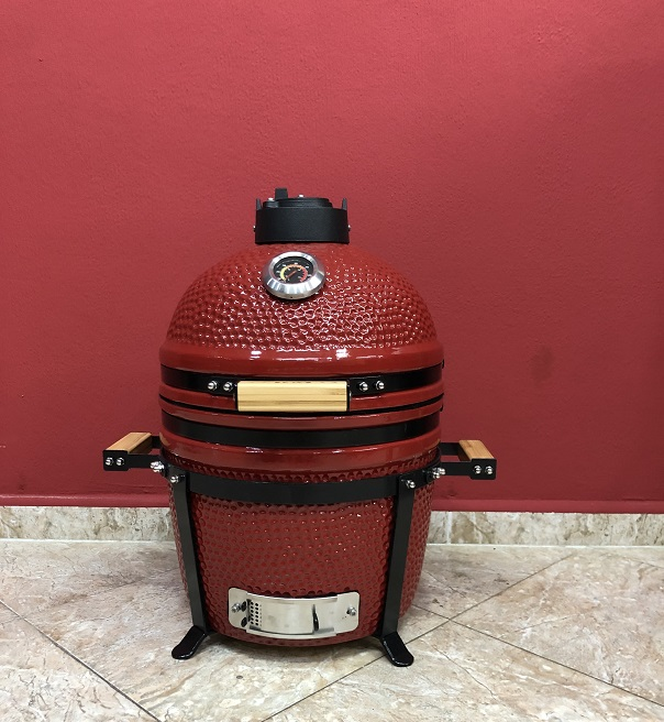 BM-15″   Ceramic Kamado Grill/Smoker (Red)