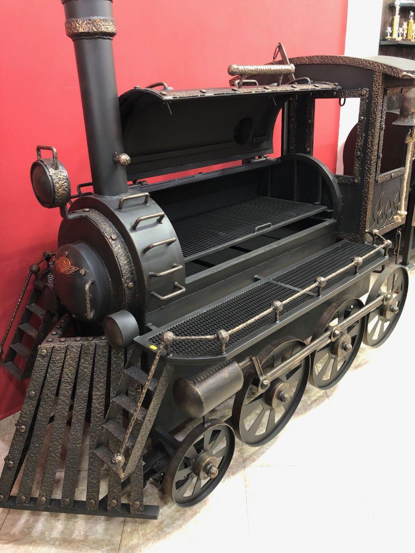 """BM T-0""   ""Train Smoker/Grill"""