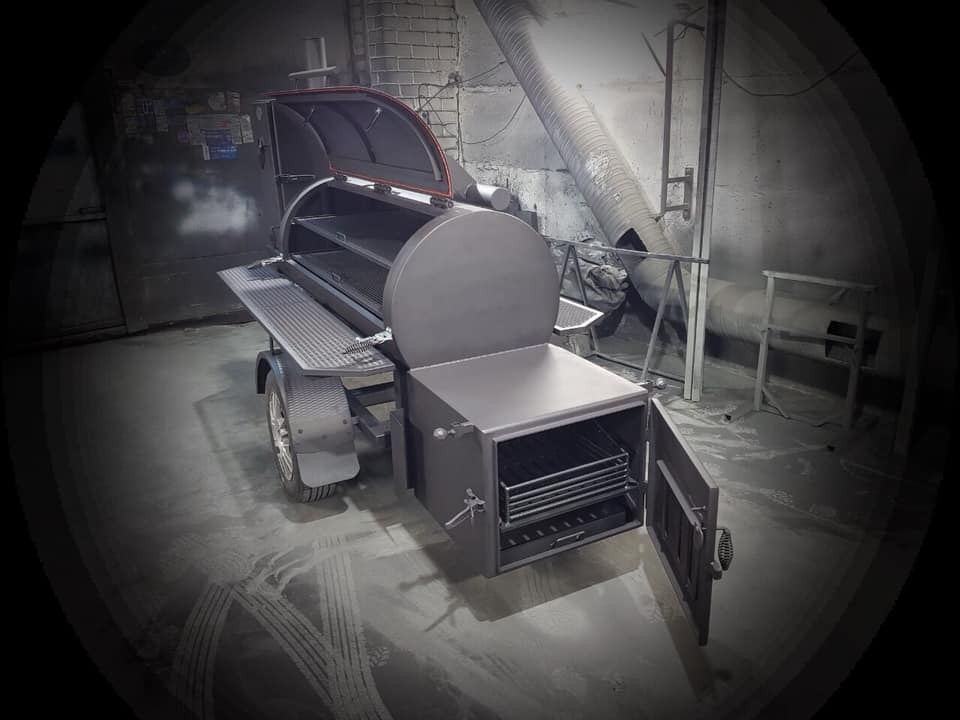 BM-0  Medium BBQ Trailer