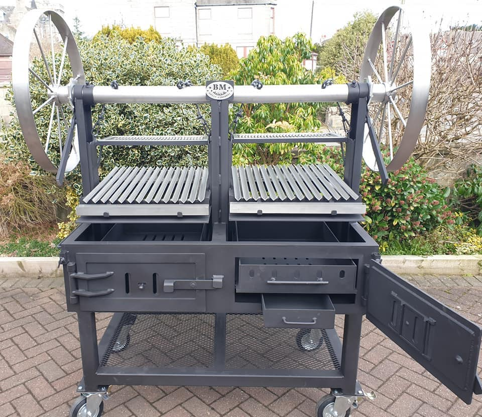 """BM G-5""  Argentine Style Dual Grill  (commercial)"
