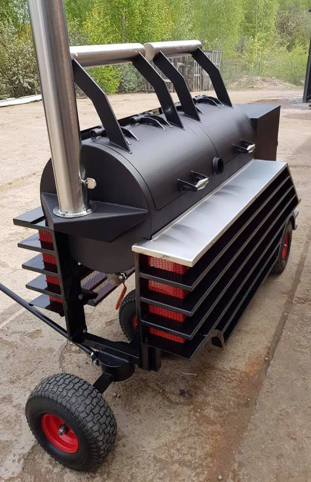 BM S-2  offset smoker (NEW)