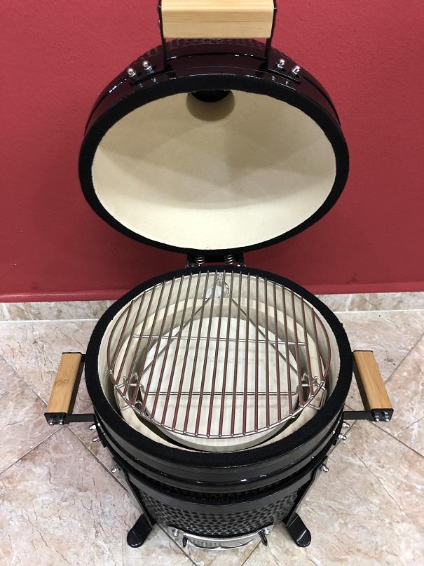 BM-15″   Ceramic Kamado Grill/Smoker (Black)