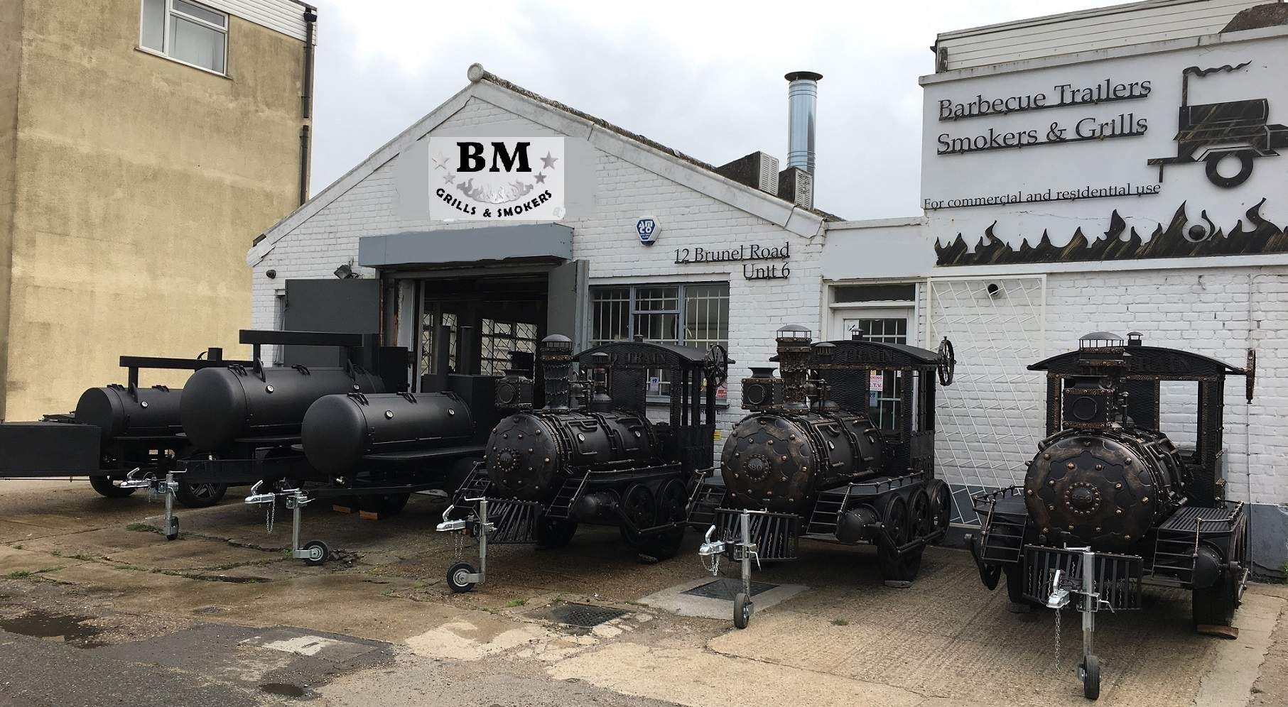 Welcome to BM Barbecue Pits - BBQ mates
