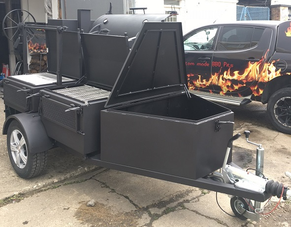 BM-5  Fully Loaded BBQ Trailer (top seller)
