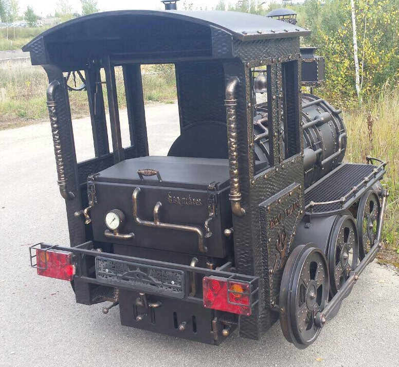 BMT-1 BBQ Train Trailer (Medium)