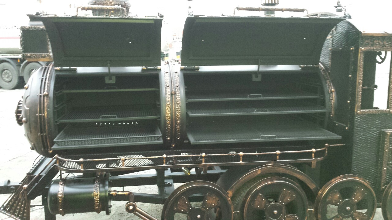 """""""BMT-3""""  BBQ Train Trailer (Extra Large)"""
