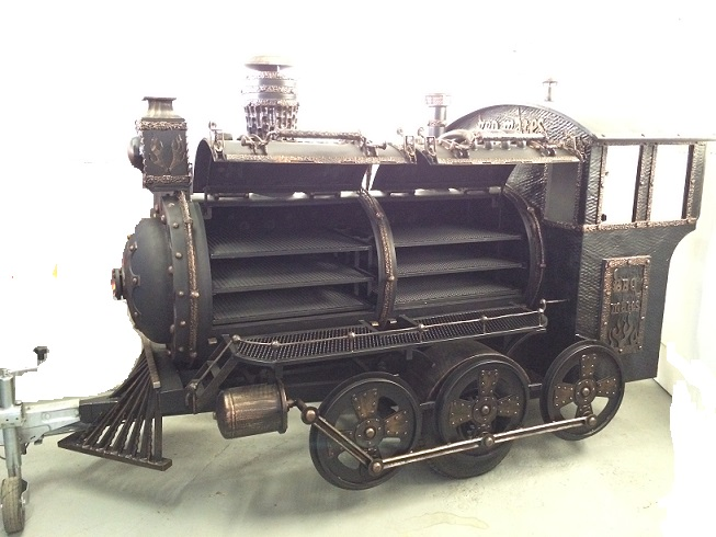 BMT-2  BBQ Train Trailer  (Large)