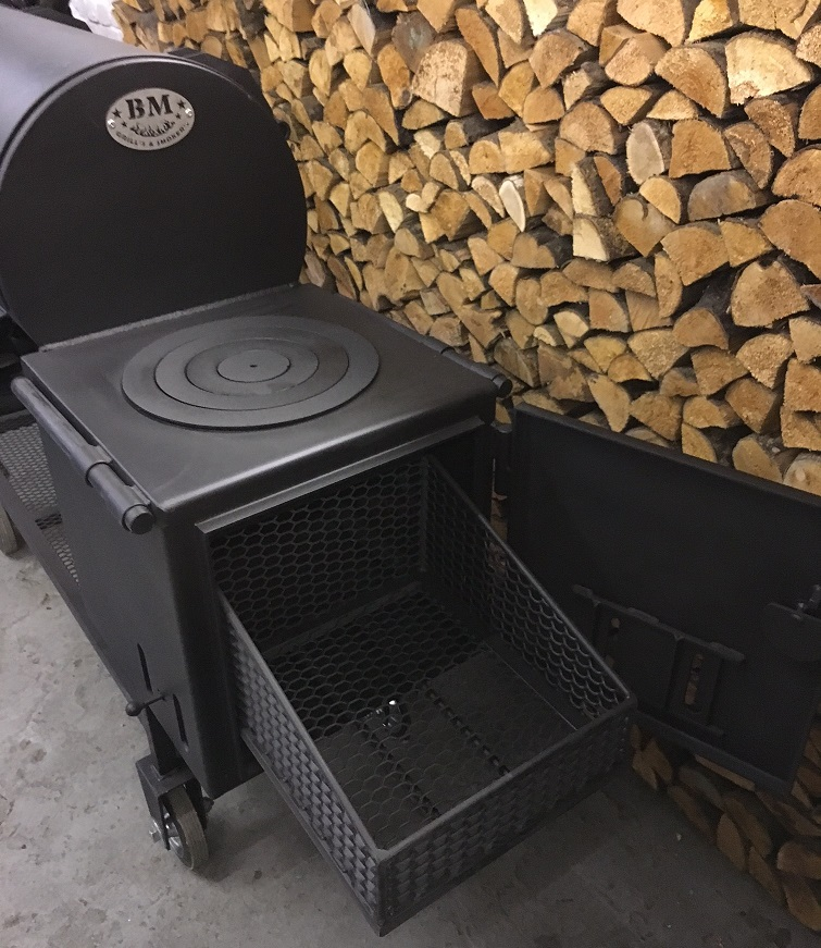 how to use a offset smoker grill