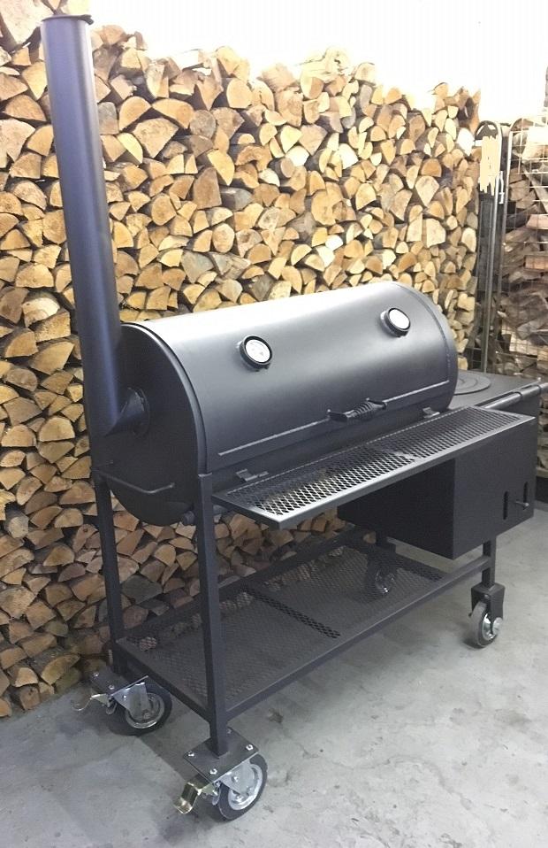 BM S-3  offset smoker/grill